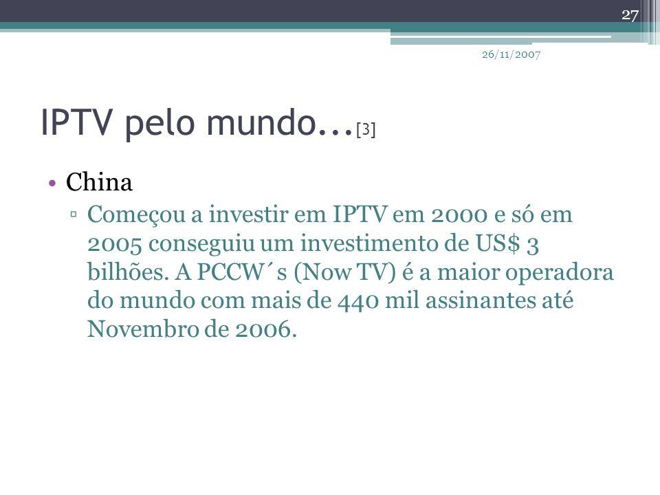 IPTV pelo mundo...[3] China